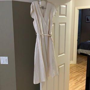 Beautiful linen style dress